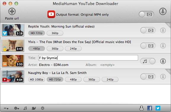 MediaHuman YouTube Downloader Crack Mac