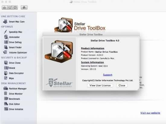 Stellar Drive ToolBox 4.0.0.3 for macOS Cracked Full Version