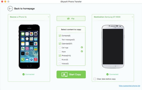 iSkysoft Phone Transfer Cracked Mac