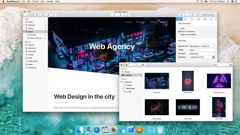 RapidWeaver 8 macOS