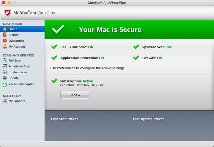 McAfee Endpoint Security Crack Mac