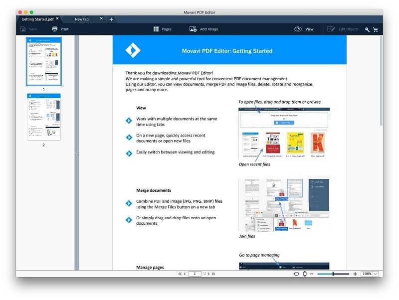 Movavi PDF Editor Crack Mac