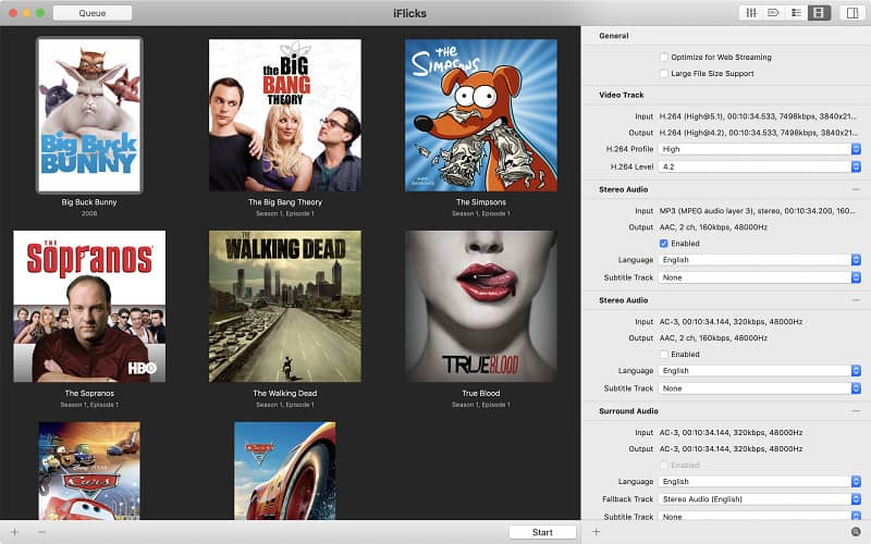 iFlicks Mac
