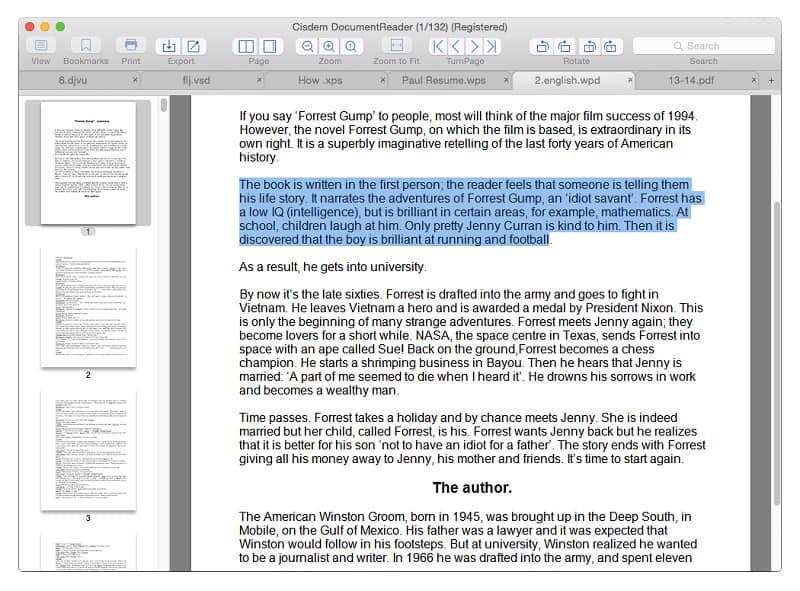 Cisdem Document Reader Mac Crack