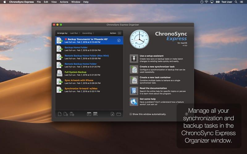 ChronoSync Mac Crack