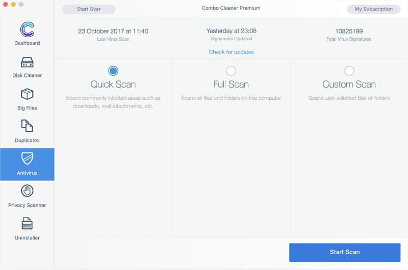 Combo Cleaner Premium Mac