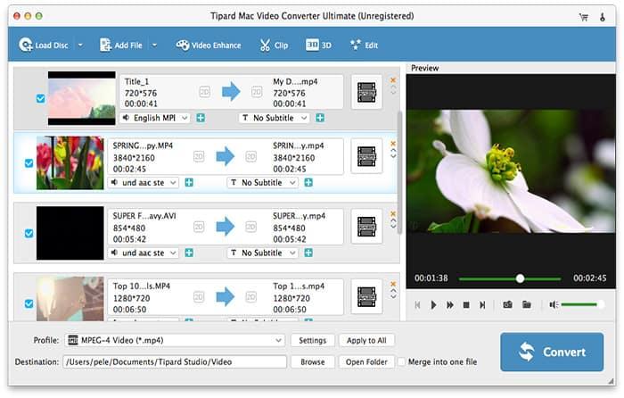 Tipard Mac Video Converter Ultimate Torrent