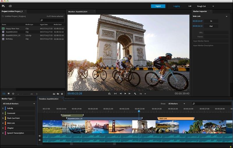 Adobe Prelude