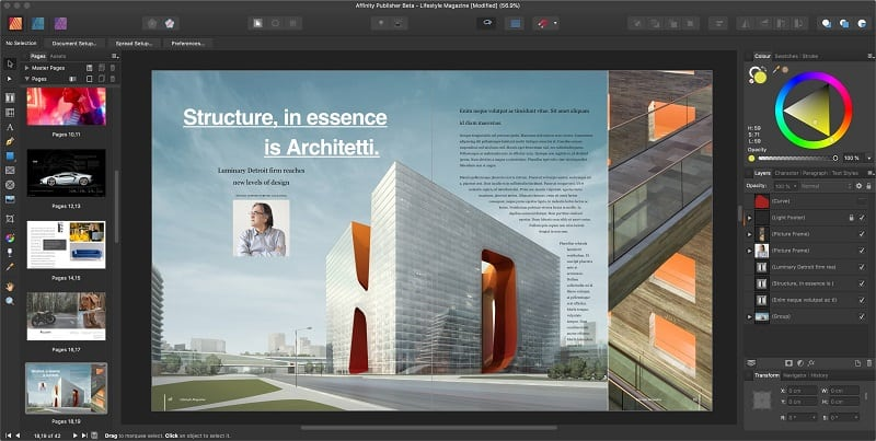 Affinity Publisher Mac