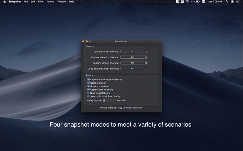 iSnapshot Mac