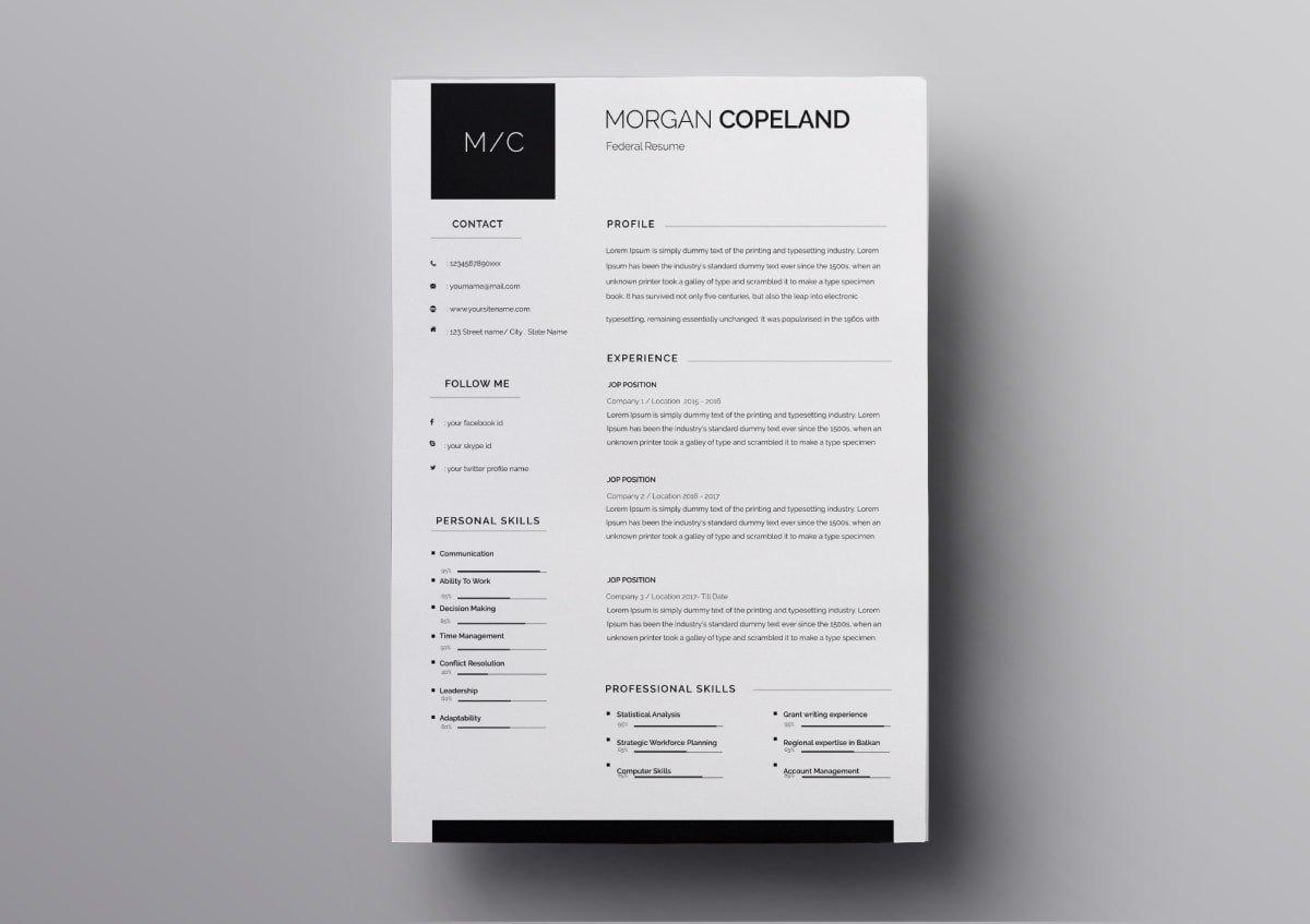 Resume Templates - Design