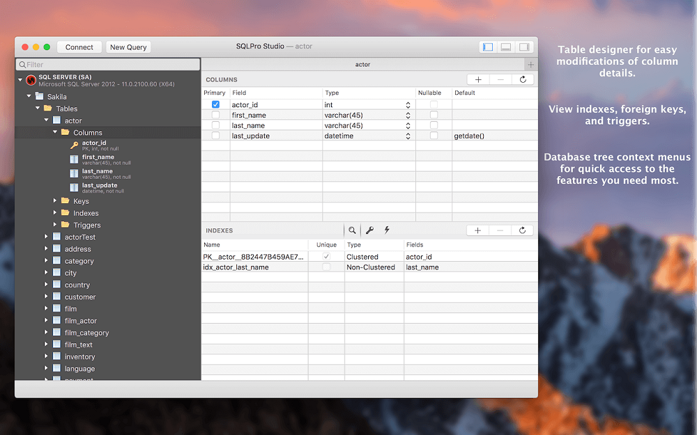 SQLPro Studio Mac