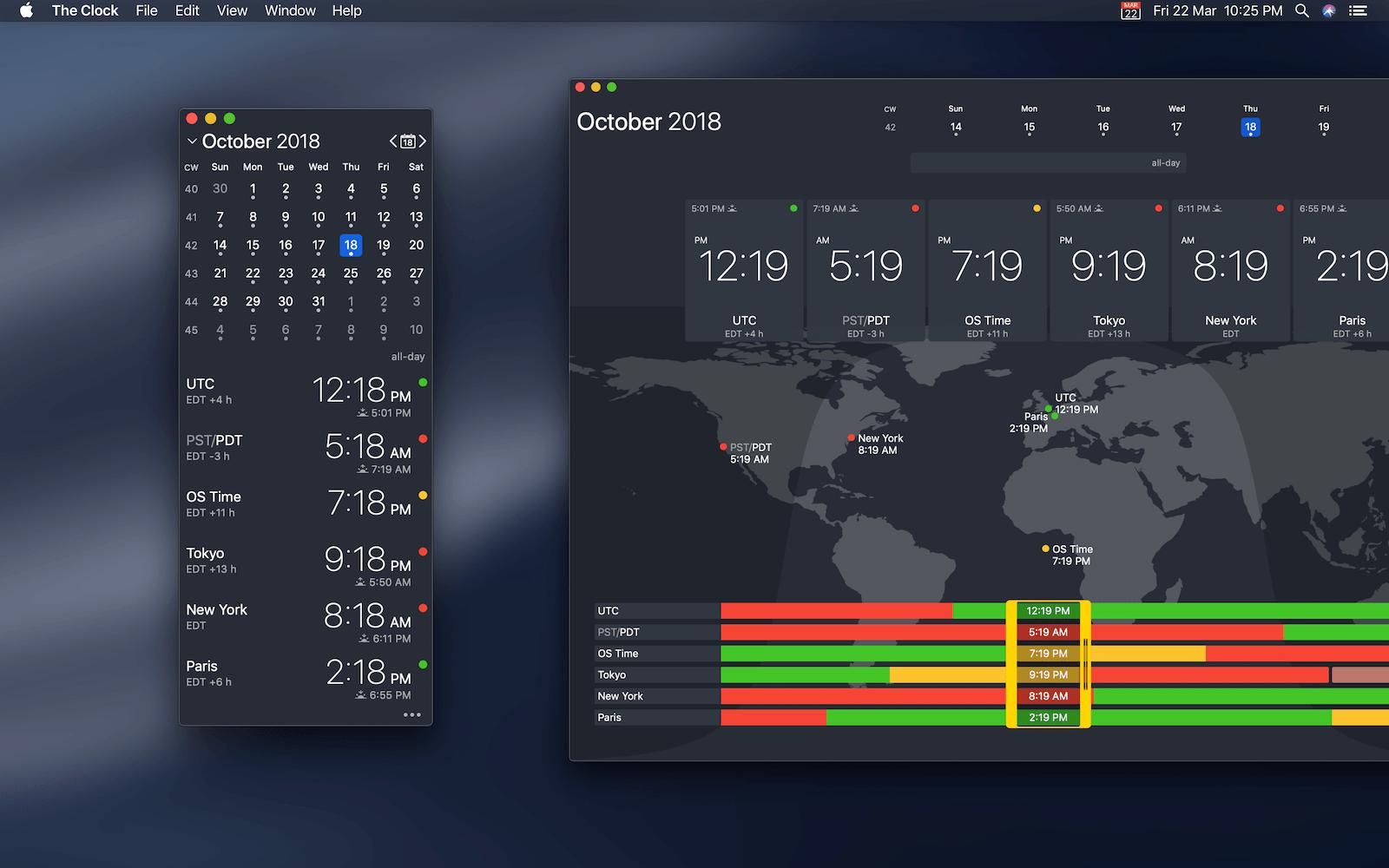 The Clock App for macOS