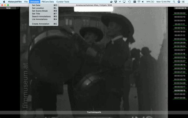 HistoryInFilm Mac
