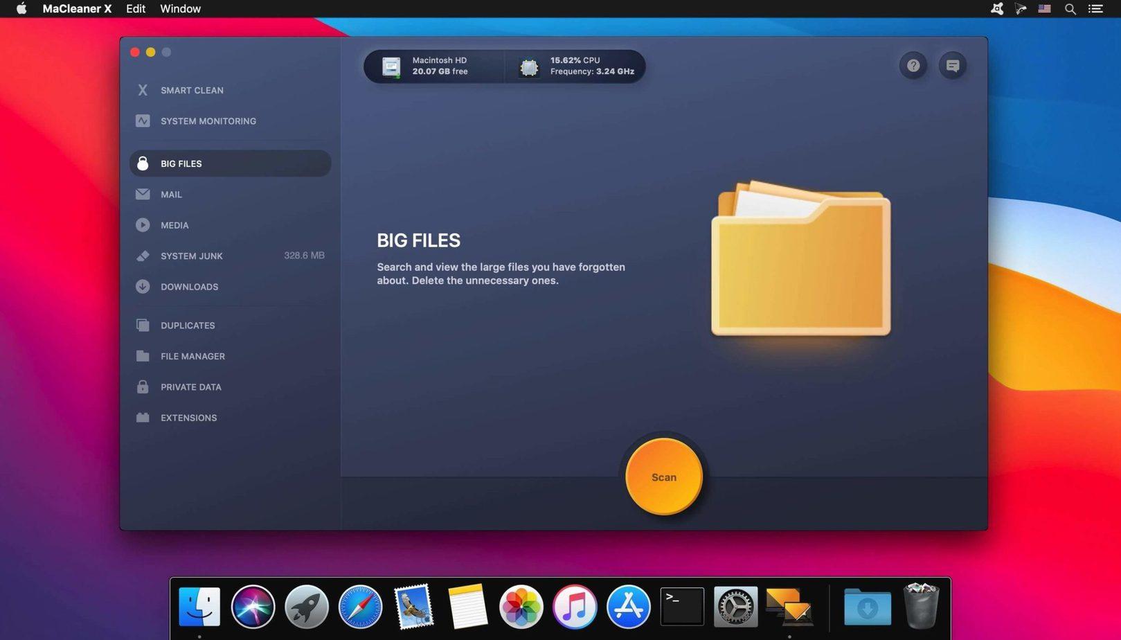 MaCleaner Xfor macOS