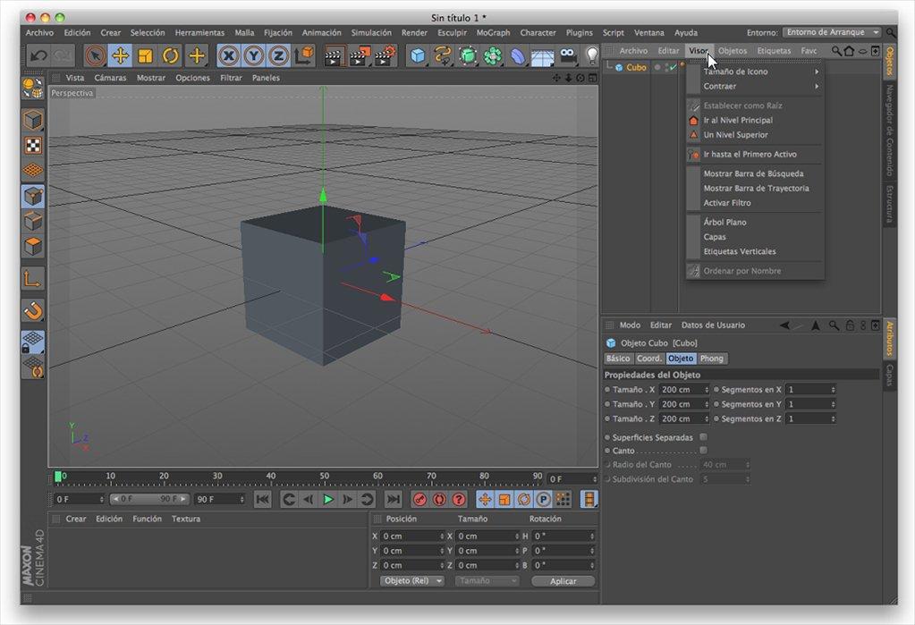 Maxon CINEMA 4D Studio macOS