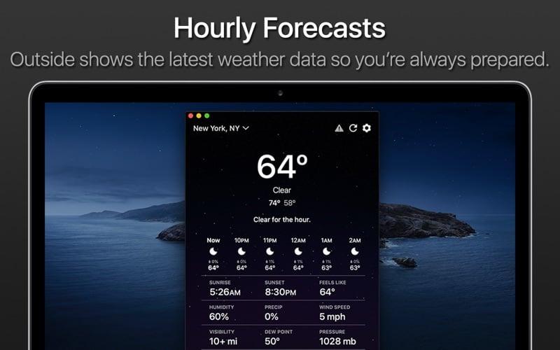 Outside Mac App