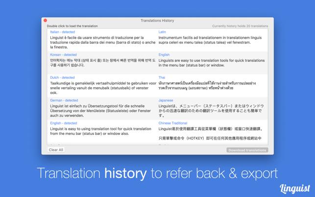 Linguist Easy Translate App