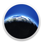 Living Earth - Weather & Clock Logo