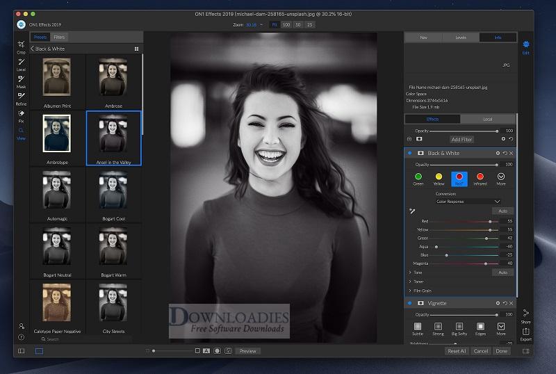 ON1 Effects Mac