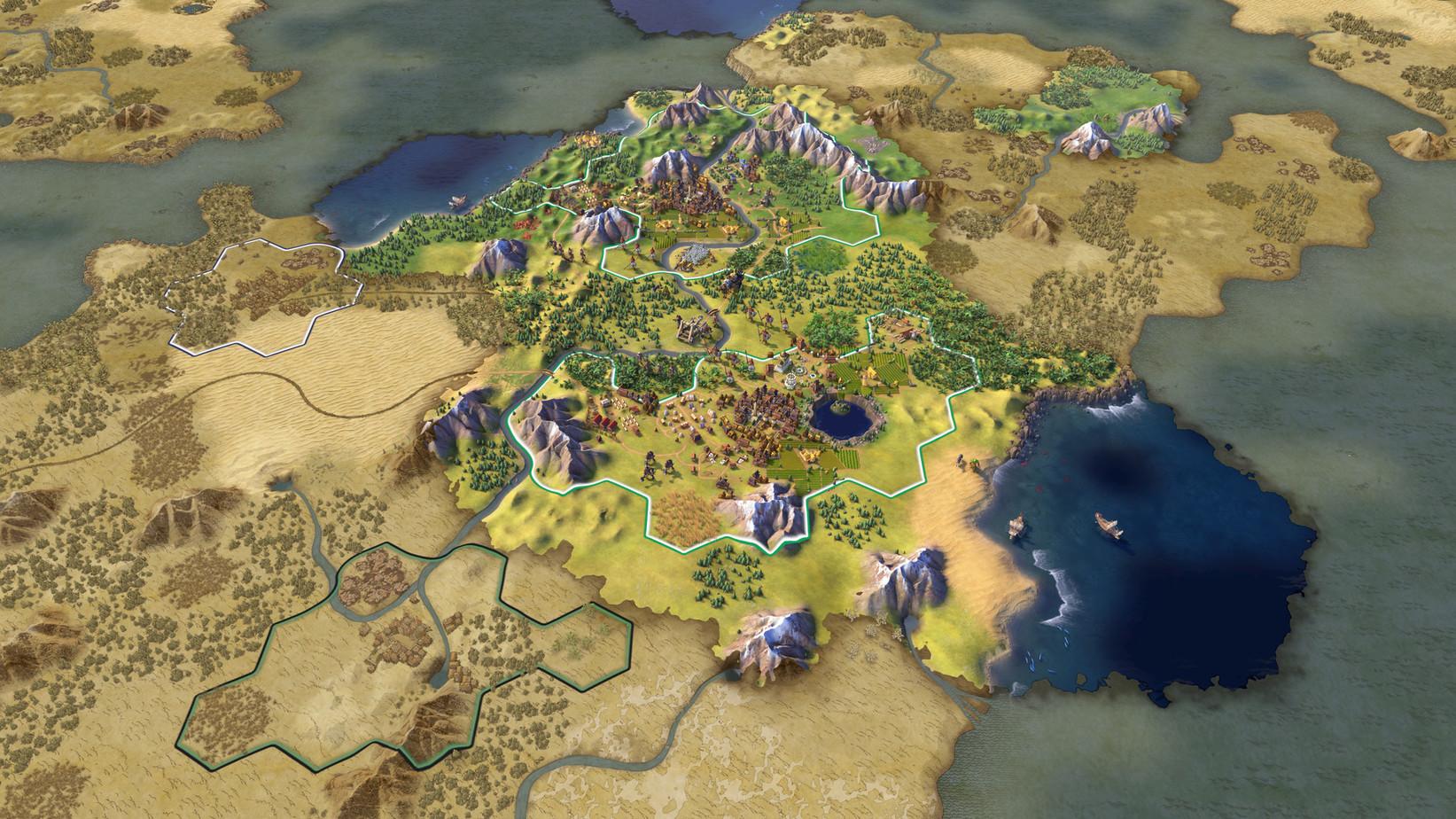 Sid Meier's Civilization VI macOS