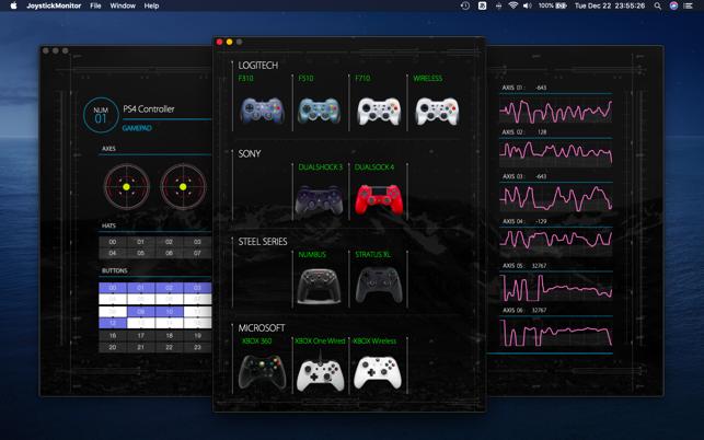 Joystick Monitor Mac