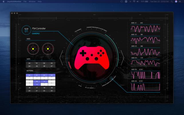 Joystick Monitor