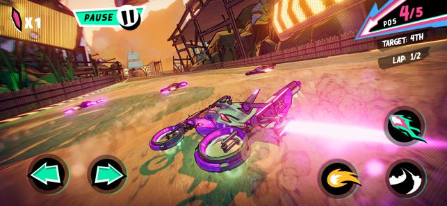 Warp Drive – Teleportation Racing!