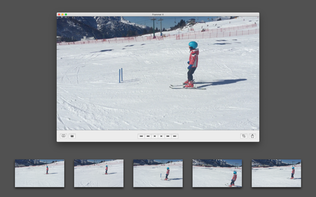 Frammer X macOS