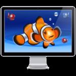 Aquarium HD Screensaver Logo