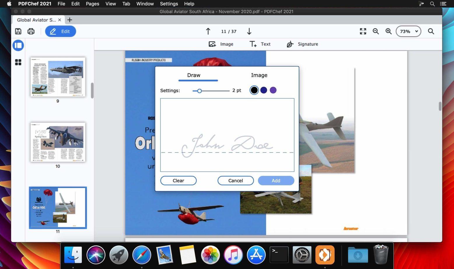 Movavi PDFChef macOS