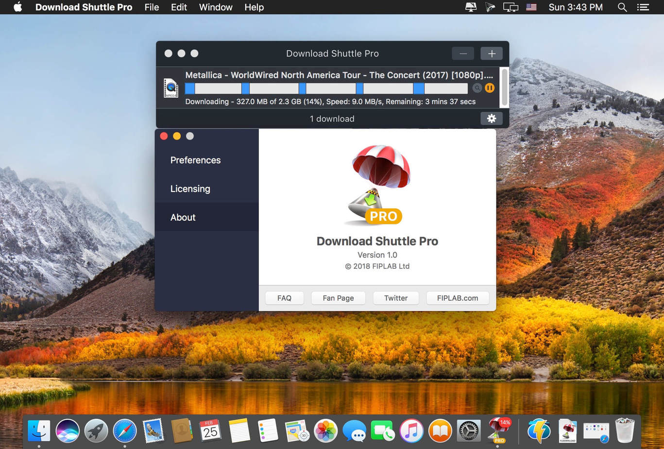 Download Shuttle Pro macOS