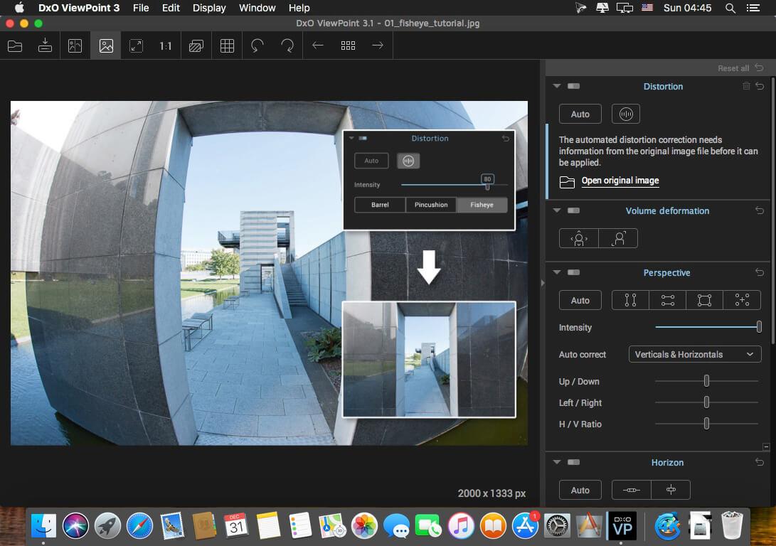 DxO ViewPoint macOS