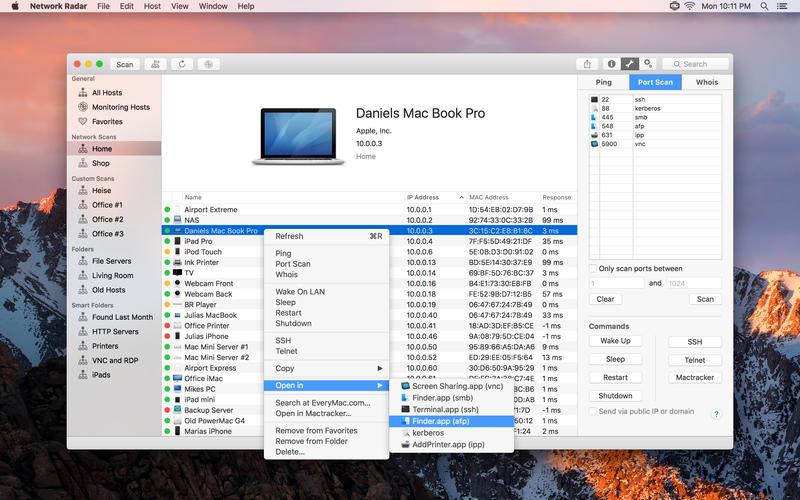 Network Radar Mac