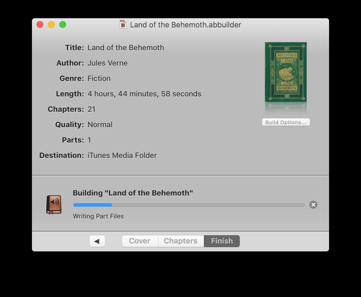 Audiobook Builder macOS
