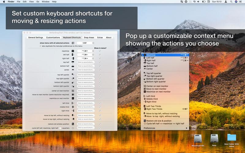BetterSnapTool macOS