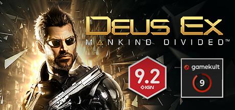 Deus Ex Mankind Divided Cover