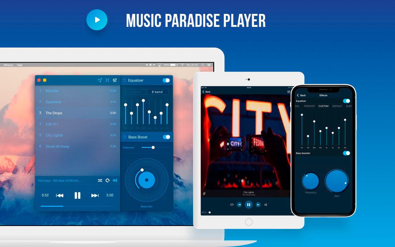 Music Paradise Player